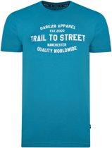 Dare 2b-Pronto Tee-Outdoorshirt-Mannen-MAAT XL-Blauw