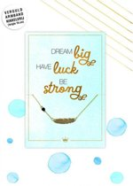Hallmark armband dream big have luck be strong