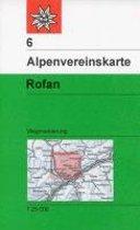 DAV Alpenvereinskarte 06 Rofan 1 : 25 000