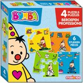 Bumba : 4-in-1 puzzel - beroepen