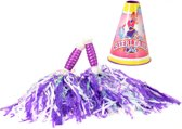 Toi-toys Cheerleaderset Paars 17 Cm 3-delig