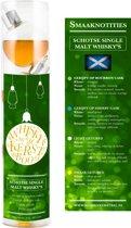 Whisky kerstballen Single Malt - Whiskykerstballen - 4 kerstballen - Single Malt