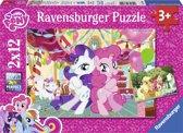 Ravensburger My Little Pony Het geheim van vriendschap Twee puzzels van 12 stukjes