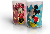 Philips Candlelights Disney - Mickey & Minnie - LED - Multicolor - Set van 2