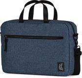 The Pack Society Commuter Reporter - Schoudertas - 15 inch Laptopvak - Light Blue Duo Tone