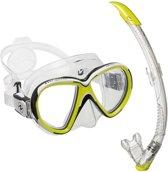 Aqualung Reveal X2 - duikset - snorkelset - Lime - masker + snorkel