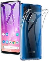 Motorola One Action Hoesje Dun TPU Transparant
