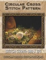 Circular Cross Stitch Pattern