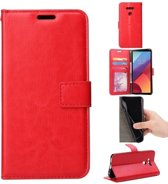 Samsung Galaxy J5 (2017) J530 Duos portemonnee hoesje - rood