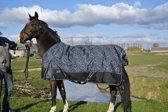 Buitendeken Regendeken luxe o gram met fleecevoering spetter - maat 145