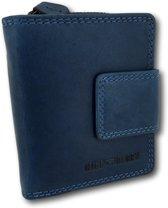 HillBurry - VL777012 - 5026 - blauw - portemonnee - leder