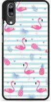 Huawei P20 Hardcase Hoesje Flamingo Ananas