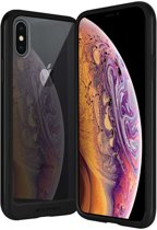 iPhone X/Xs bumper - Goospery Hybrid TPU Cover - Zwart