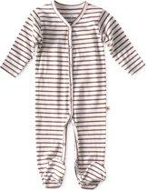 Little Label - babypakje met voetjes - copper stripe