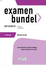 Examenbundel  - VMBO-GT Nederlands 2014/2015