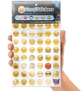 Emoji / Smiley Stickers - 912 Emoticons Stickervel - Papier / Laptop / Knutselen