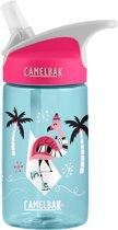 CamelBak Eddy Kids - drinkfles - 400 ml - Blauw (Famingos on Ice)