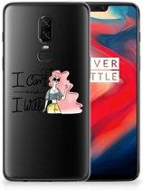 OnePlus 6 Telefoonhoesje met Naam i Can