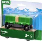 BRIO Goederenwagon met lading - 33561