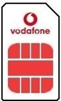 Vodafone Simkaart Plus Smartphone 2in1 incl. 10 euro beltegoed en 1 GB data