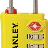 Stanley TSA-Cijferreisslot 3-cijfers Geel 30 mm
