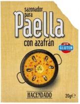 2 zakjes heerlijke paella kruiden met saffraan, het geheim van een echte Valenciaanse Paella.