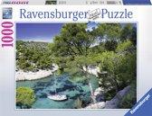 Ravensburger puzzel De Calanques Cassis - Legpuzzel - 1000 stukjes