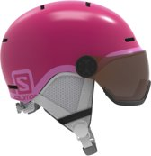 Salomon Grom Visor Ski helm Junior Skihelm - UnisexKinderen  - roze