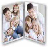 ZEP - Duo Metalen Fotolijst Window dubbel voor foto formaat 2x 10x15 - 921DS1