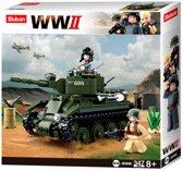 Building Blocks WWII Serie BT-7 Allied Cavalry Tank