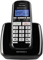 Motorola S3001 Uitgebreide Senioren Single Set - BE - DECT Telefoon  - Zwart