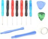 12 in 1 professionele schroevendraaier reparatie Open Tool Kit voor mobiele telefoons