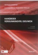 Boek cover Handboek vergunningvrij bouwen van R. Bleeker