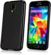 Samsung S5 Siliconen Hoesje Case Zwart