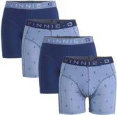 Vinnie-G boxershorts Ski Dark - Print 4-Pack -XL
