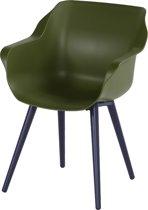 Hartman Sophie Studio Dining Tuinstoel Armleuning - Set Van 2 - Moss Green NU Met Gratis Zitkussens Twv. € 44,00