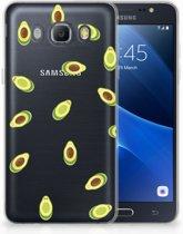 Samsung Galaxy J5 2016 Uniek TPU Hoesje Avocado