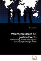 Volunteereinsatz Bei Groen Events