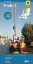 ANWB waterkaart B - Friesland 2018/2019