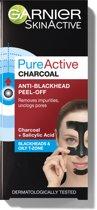 Garnier Skinactive Peel Off Gezichtsmaker - Charcoal - Anti mee-eters