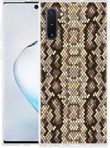 Galaxy Note 10 Hoesje Snakeskin Pattern