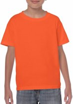 Oranje kinder t-shirts Xs (110-116)