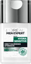 L'Oréal Men Expert Hydra Sensitive Aftershave – 125ml -Gevoelige huid