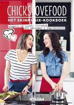 Omslag van 'Chickslovefood - Het skinny-six kookboek'