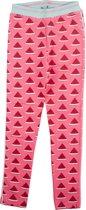 Birds by D-RAK-meisje-legging-meloen-kleur: roze -maat 104