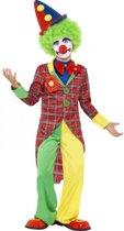 Clown kostuum voor kids 130-143 (7-9 jaar)