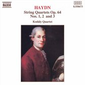 Haydn: String Quartets Vol 2 / Kodaly Quartet