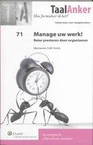 Manage uw werk
