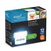 Aqua Optima Evolve vervangingsfilter voor Brita Maxtra filter - 6x60 dagen