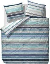 ESPRIT Iva - dekbedovertrek - tweepersoons - 200 x 220 - Blauw